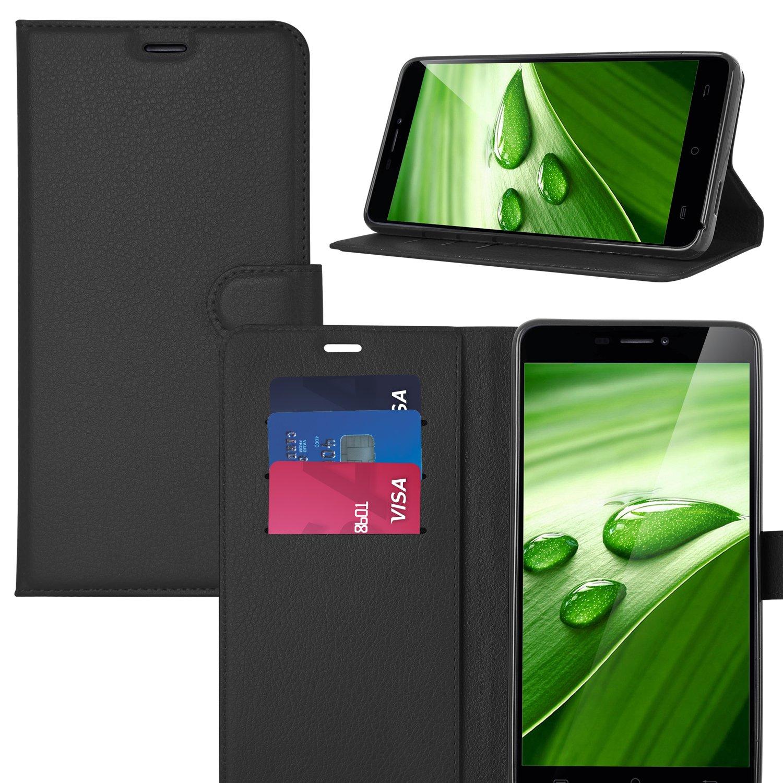 ELTD Elephone S7 flip Cover, Slim Billetera Estilo flip ...