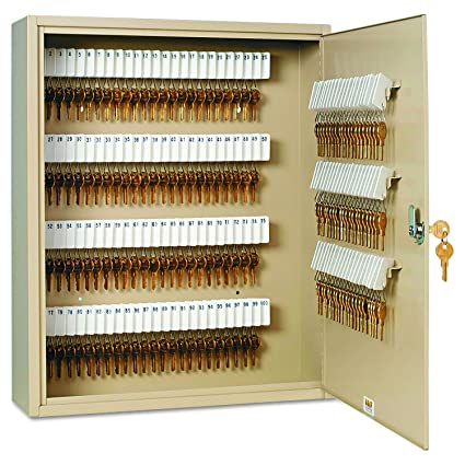 SteelMaster 201916003 Uni-Tag Key Cabinet 160-Key Steel Sand  sc 1 st  Amazon.com : steelmaster key cabinet - Cheerinfomania.Com