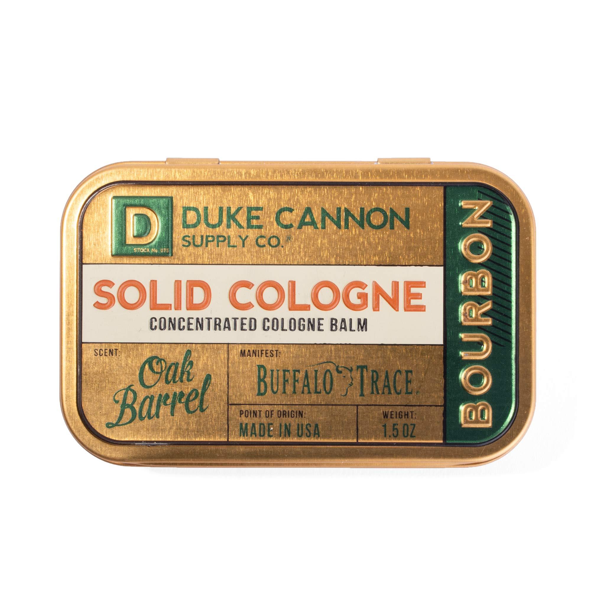 Duke Cannon Men's Solid Cologne, 1.5oz. - Bourbon Trail (Buffalo Trace Bourbon Fragrance) by Duke Cannon