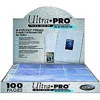 Ultra Pro 074427814427 Silver Series Pages 9-Pocket, Verzamelkaartaccessoires, Zilver