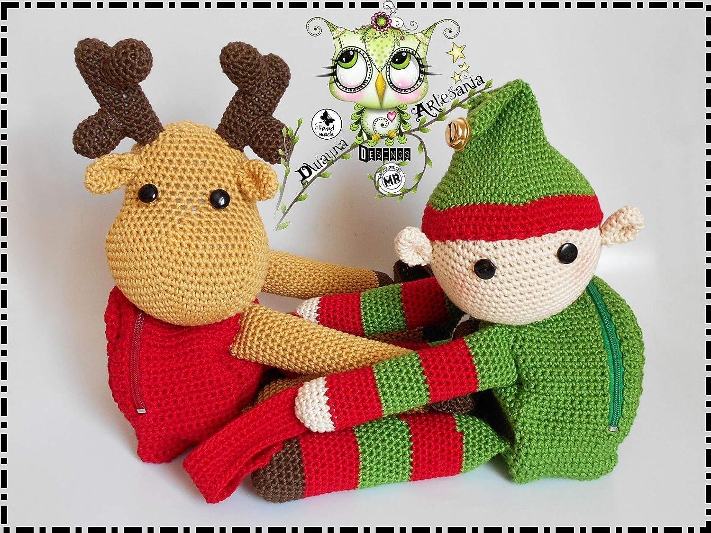 Patrón amigurumi duende - crochet y ganchillo en DaWanda.es ... | 1125x1500