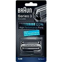 Braun Pièce De Rechange 32B Noire Pour Rasoir - Compatible avec les rasoirs Series 3