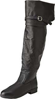 Amazon.com | Rebellion Adult Renaissance Thigh High Boot | Boots