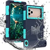 Professional 50ft Diving Phone Case for All Samsung iPhone Series, Universal Waterproof Cell Phone Cover for Outdoor Surfing