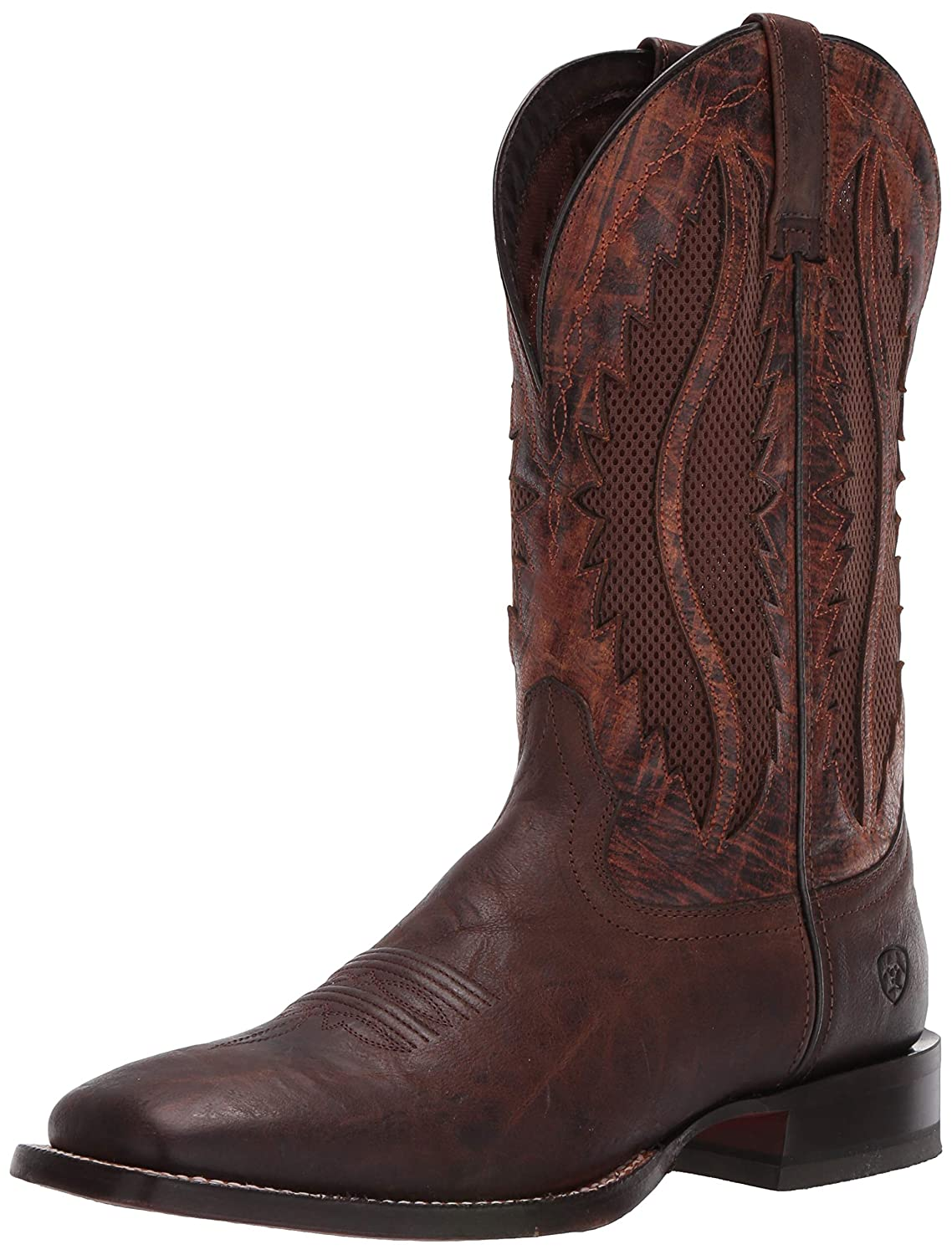 Tobacco Bay Sienna Ariat Men's Traditional Venttek Western Boot