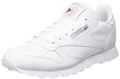 7ef4cd446479 Reebok Unisex Kids  Classic Leather Gs Low-Top Sneakers  Amazon.co ...
