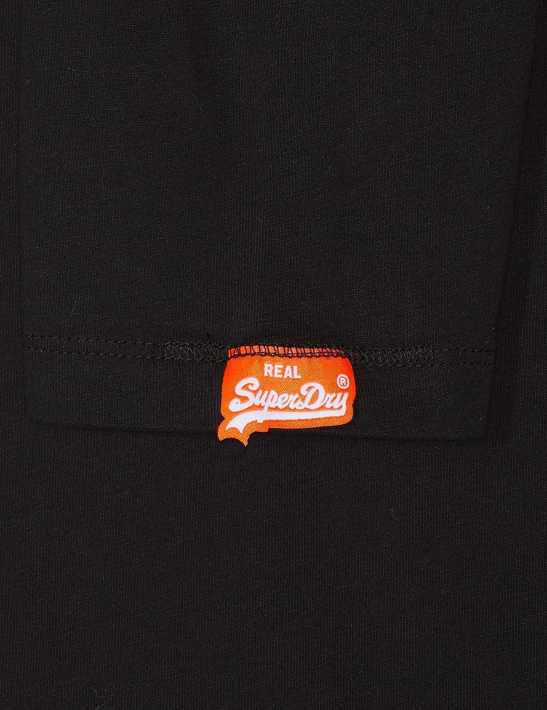 Superdry O L Vintage Embroidery L//S tee Camisa Manga Larga para Hombre