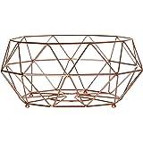 Premier Housewares Vertex, articoli per la casa in rame placcato, metallo, Copper, 32 x 32 x 15 cm