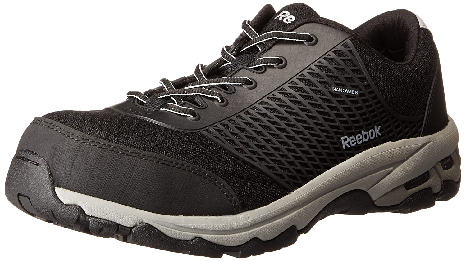 4b3d595996e9 Amazon.com  Reebok Work Men s Heckler RB4625 ESD Athletic Safety Shoe  Shoes