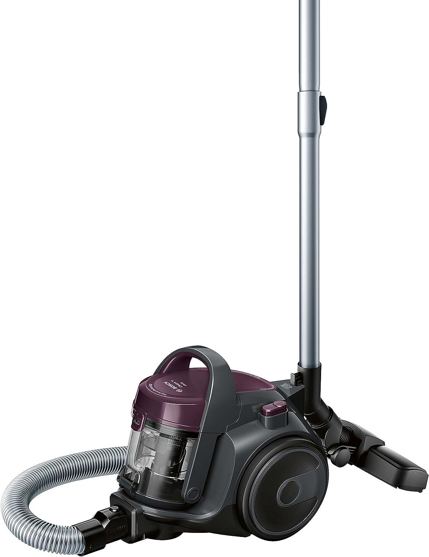 Bosch BGC05AAA1 GS05 Cleann'n Serie | 2 Aspirador sin bolsa, 700 W, color violeta y gris