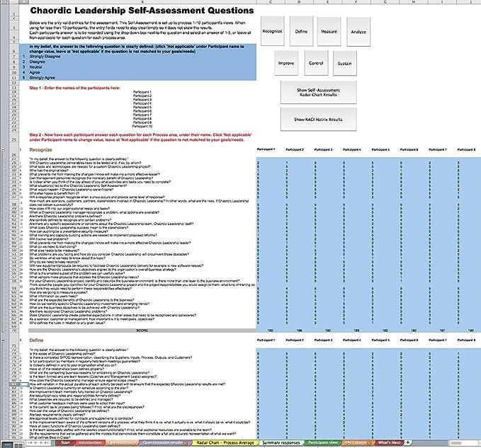 Amazon.com: Chaordic Leadership All-Inclusive Self-Assessment - More ...