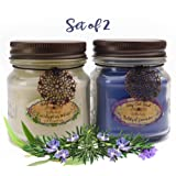 Amazon Price History for:Way Out  West Aromatherapy Candles Stress Relief 2 Pack with Natural Essential Oils of Lavender, Eucalyptus Spearmint and Rosemary (2) 8 Ounce Jar Candles- Spa Quality Gift and Made in America