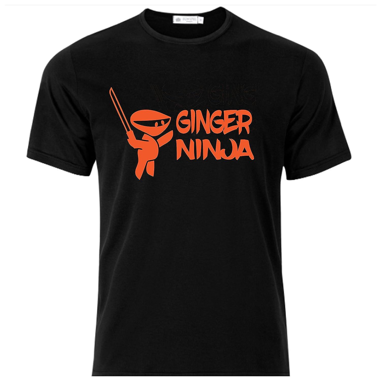 Amazon.com: Ginger Ninja Super MMA Shop T Shirt Color Black ...