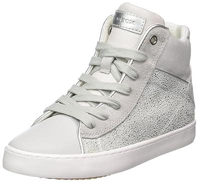Geox - J82D5H - J82D5H007DWC1355 - Color: Silver-White - Size: 1.0