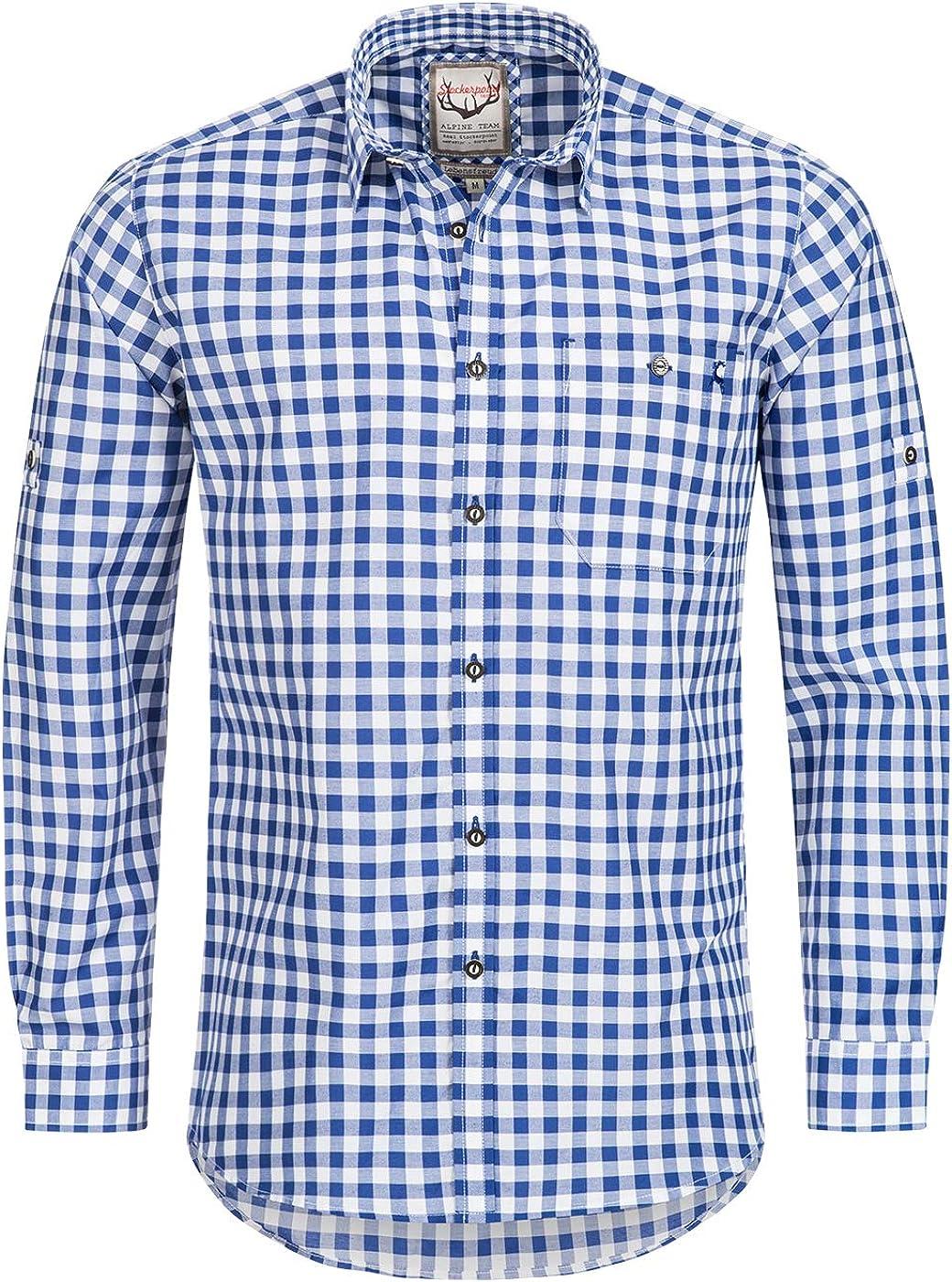 Stockerpoint Camisa OC-Franzl a cuadros, corte moderno ...
