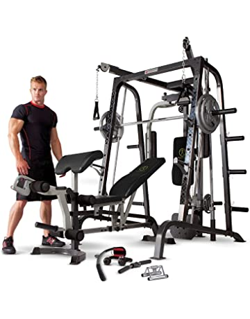 Marcy MD-9010G - Máquina de gimnasia (máquina Smith, banco de pesas extraíble. #2