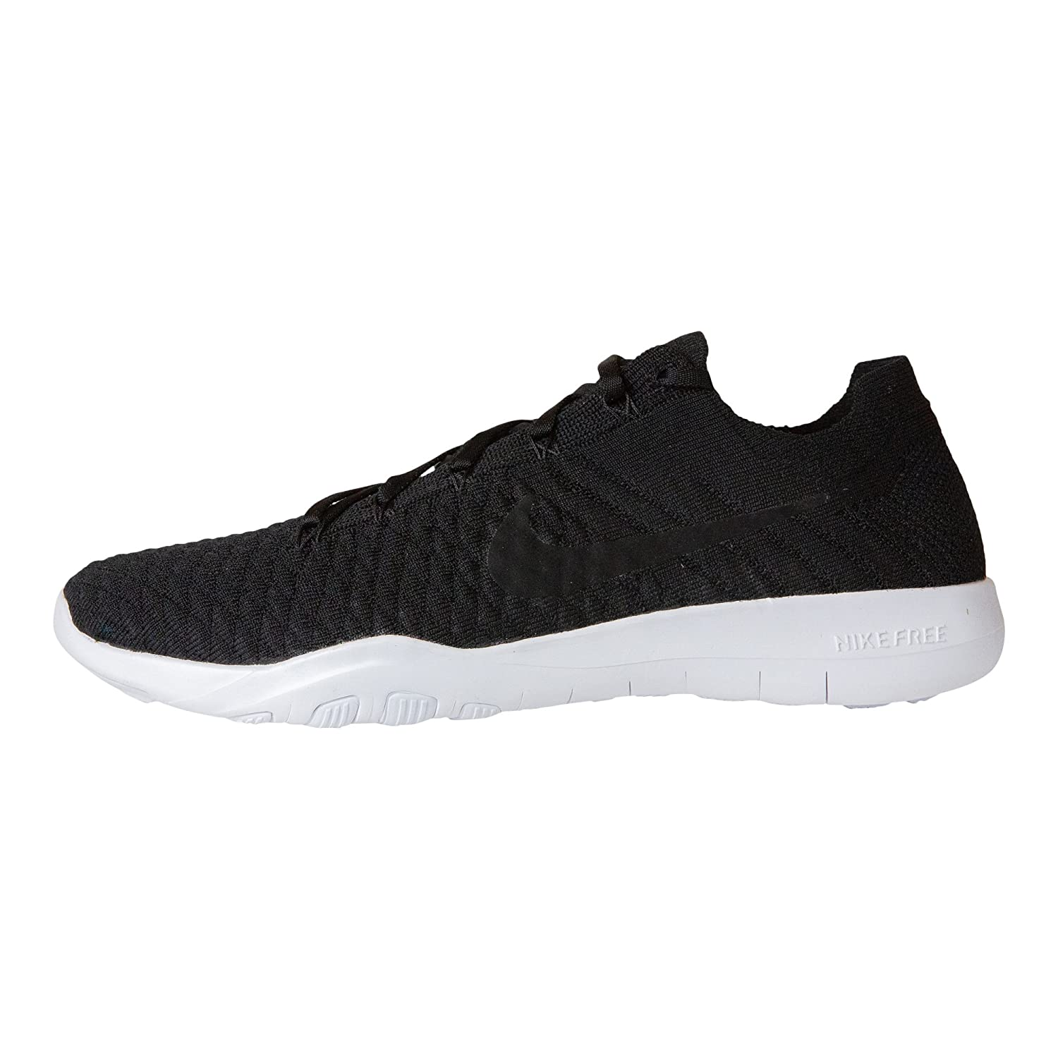 timeless design 2dfd5 6c6fc Nike Free TR Flyknit 2 Womens Running Shoes (10 B(M) US) Black/Black-White