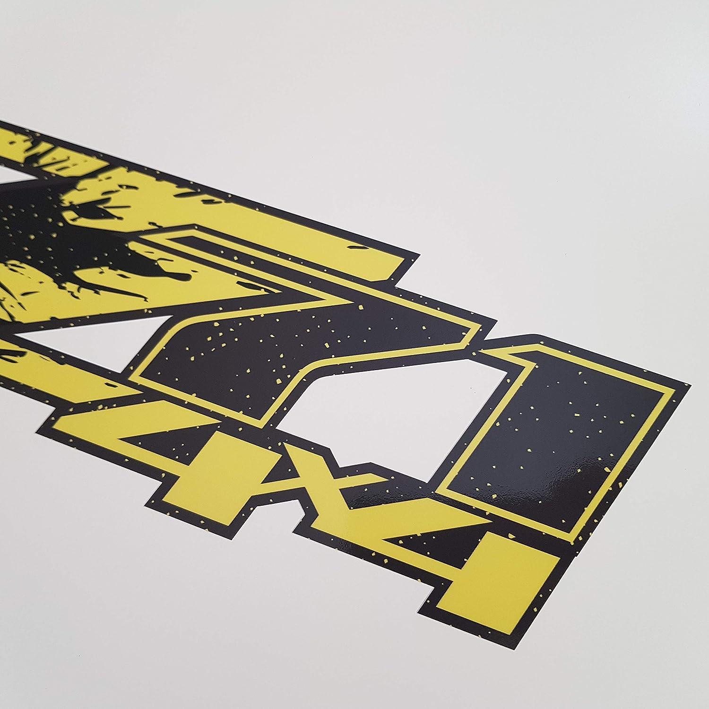 GOLD HOOK Z71 Logo Decals Chevy Silverado Bedside Bed Panel Truck Sticker GMC Sierra