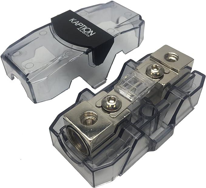 Car 0//4 Ga Gauge AWG 125 Amp Kaption Audio ANL In-Line Fuse Holder /& Fuse