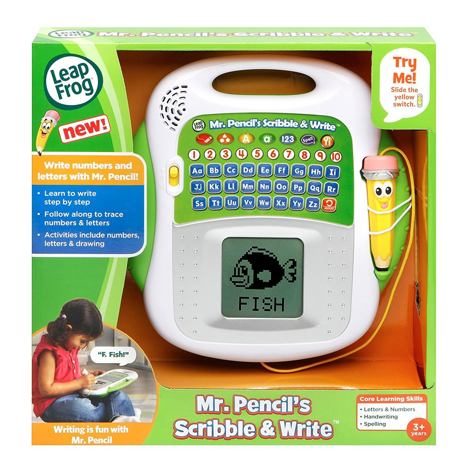 Vtech Mr Pencil's Scribble and Write Learning Toy