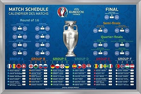 Uefa Calendrier 2020.Uefa Euro 2016 Magnetic Chart Magnetic Board Magnet Board In
