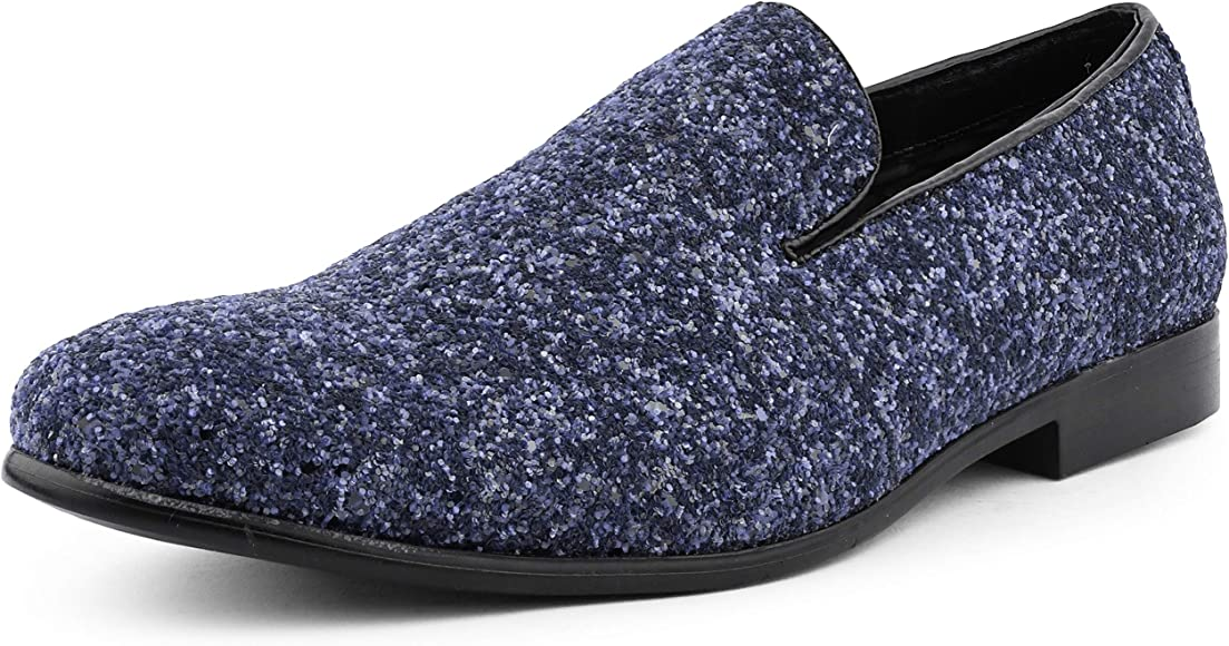 Amali Barnes Mens Dress Shoes Sparkly