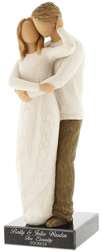 Amazon.com: Demdaco Willow Tree Together (Personalized): Home & Kitchen