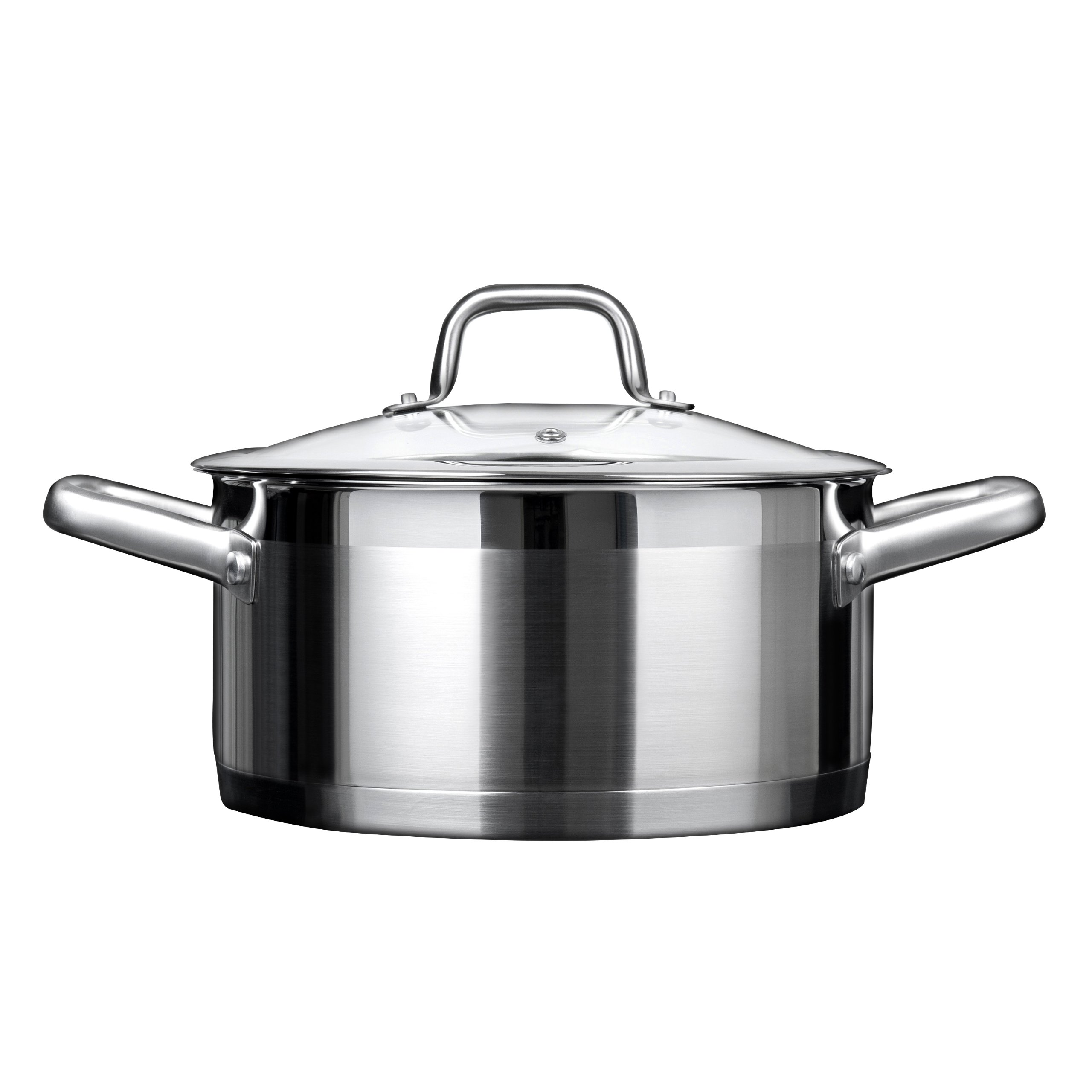 Duxtop Professional Stainless steel Cookware Induction Ready Impact-bonded Technology (4.2Qt Casserole) by Duxtop (Image #1)