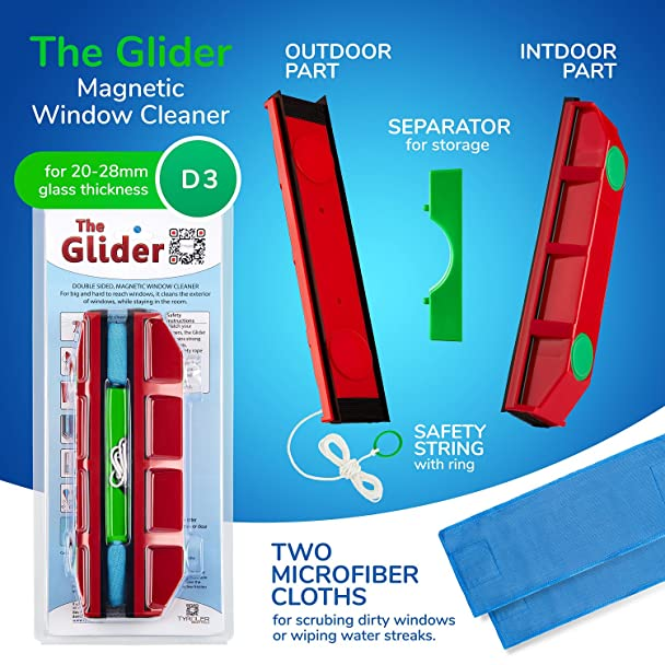 gliding windows floor plan amazoncom the glider d 3 magnetic window cleaner for double