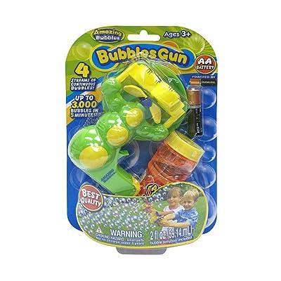 Amazing bubbles Bubbles Stick or Bubbles Gun with bubbles - Assorted: Toys & Games