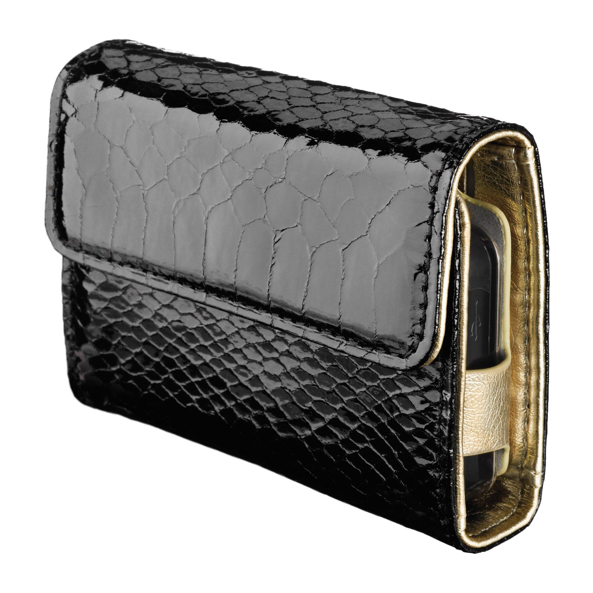 t:wallet Leatherette Case (Black & Dazzle)
