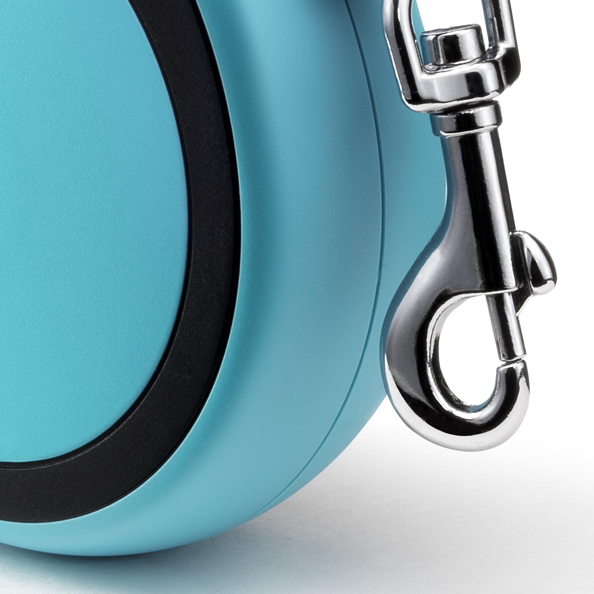 Flexi New Comfort Retractable Dog Leash (Tape), 16 ft, Medium, Blue by Flexi (Image #4)