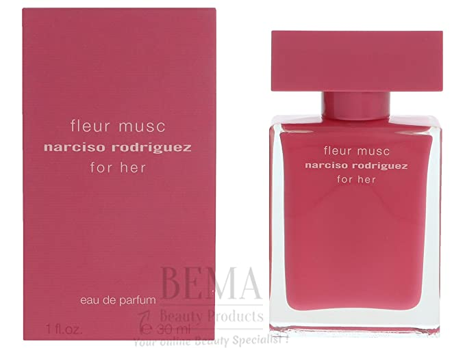 Narciso Rodriguez Fleur Musc For Her Eau de Parfum Spray, 3.3 Ounce