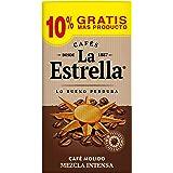 La Estrella Café Molido de tueste natural (50%) y torrefacto (50%