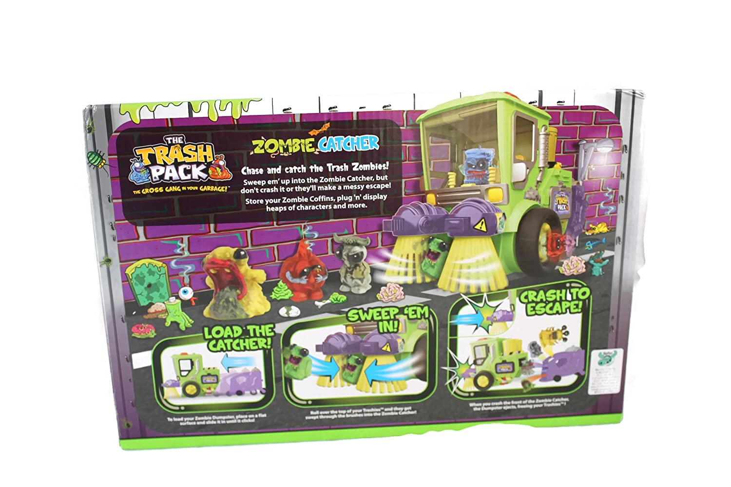 Amazoncom The Trash Pack Trashies Zombie Catcher Toys Games