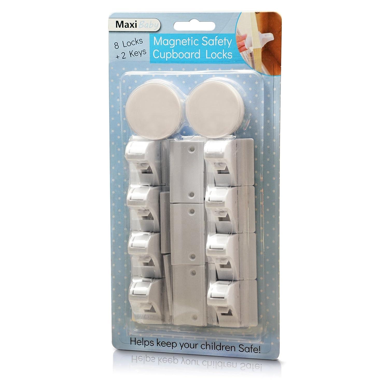 Maxi vente au d/étail magn/étique de s/écurit/é pour enfant Armoire Verrouille sans per/çage Autocollant Verrouille pour tiroirs et armoires