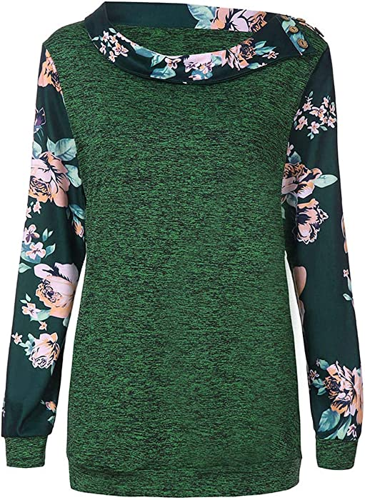 spyman Autumn 2019 Harajuku Kawaii Women Korean Streetwear Floral Print Kpop Clothes Hoodie Sudadera Mujer, Green, XXL, China at Amazon Womens Clothing ...