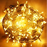 Amazon Price History for:Uping 100 LED String Lights | 39 ft with 8 Modes Starry Lights | DC 24V Low Voltage Transformer Suitable for Indoor, Outdoor, Party, Garden, Christmas | warm white