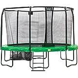 Trampoline Exit JumpArena Oval 244x380 Vert + Filet de Protection