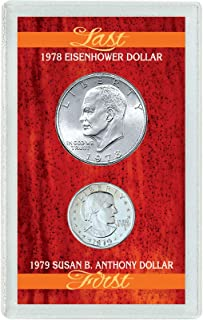 product image for Last Eisenhower Dollar & First Susan B. Anthony Dollar
