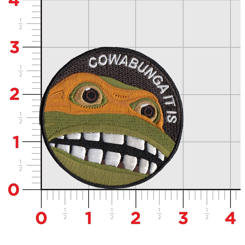 Amazon.com: Parche táctico con diseño de Cowabunga It is ...