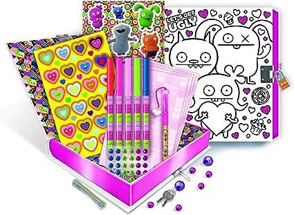 Ugly Doll Craft Kit de Caja de Recuerdos para niños para Arte o Almacenamiento con Cerradura: Amazon.es: Juguetes y juegos