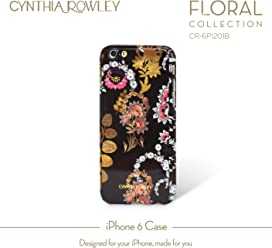 Cynthia Rowley iPhone 6/6s Case Skinny Wrap Case (Black/Multi Color)