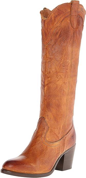 FRYE Women's Tabitha Pull On Tall Western Boot