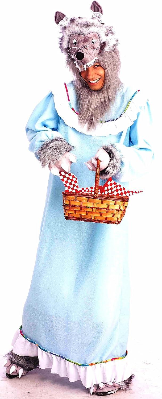 Forum Novelties Men's Adult Fairy Tales Granny Wolf Costume