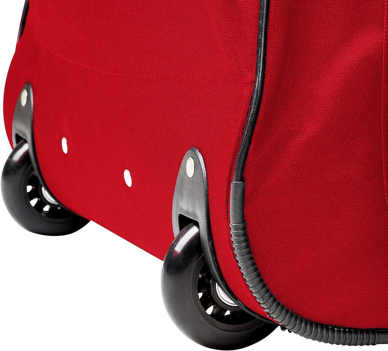 Bleu | No. 402215 diverses Couleurs au Choix poign/ée t/élescopique TecTake Grand Sac de Voyage XXL Valise Trolley /à roulettes 160 litres