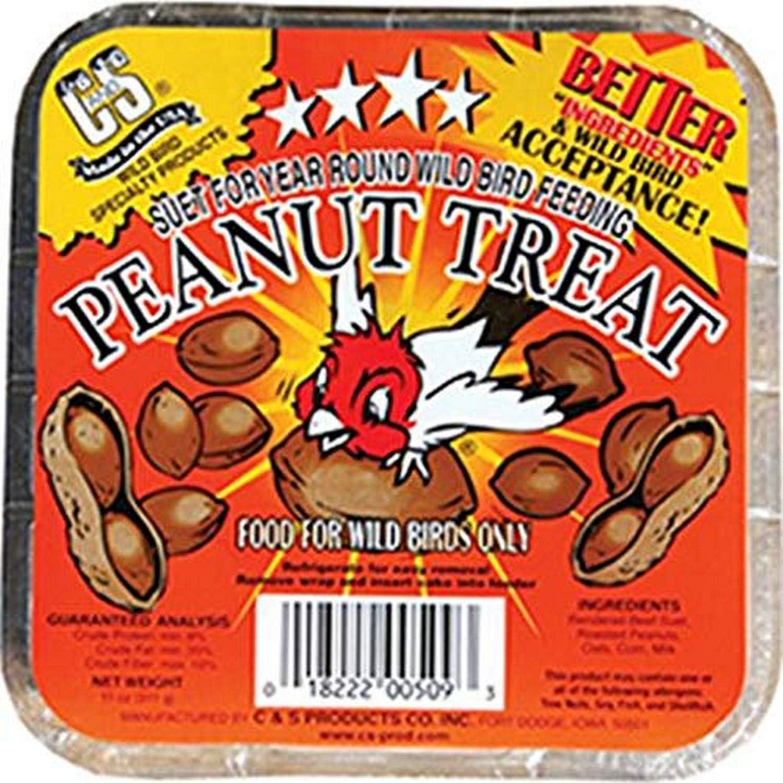 11 oz. C/&S Peanut Treat Suet