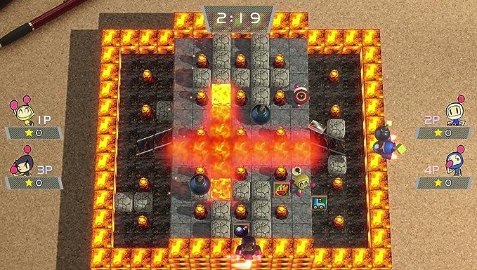Super Bomberman R - Standard Edition (Multi-Language) [Switch] [import Japonais] [video game]: Amazon.es: Videojuegos