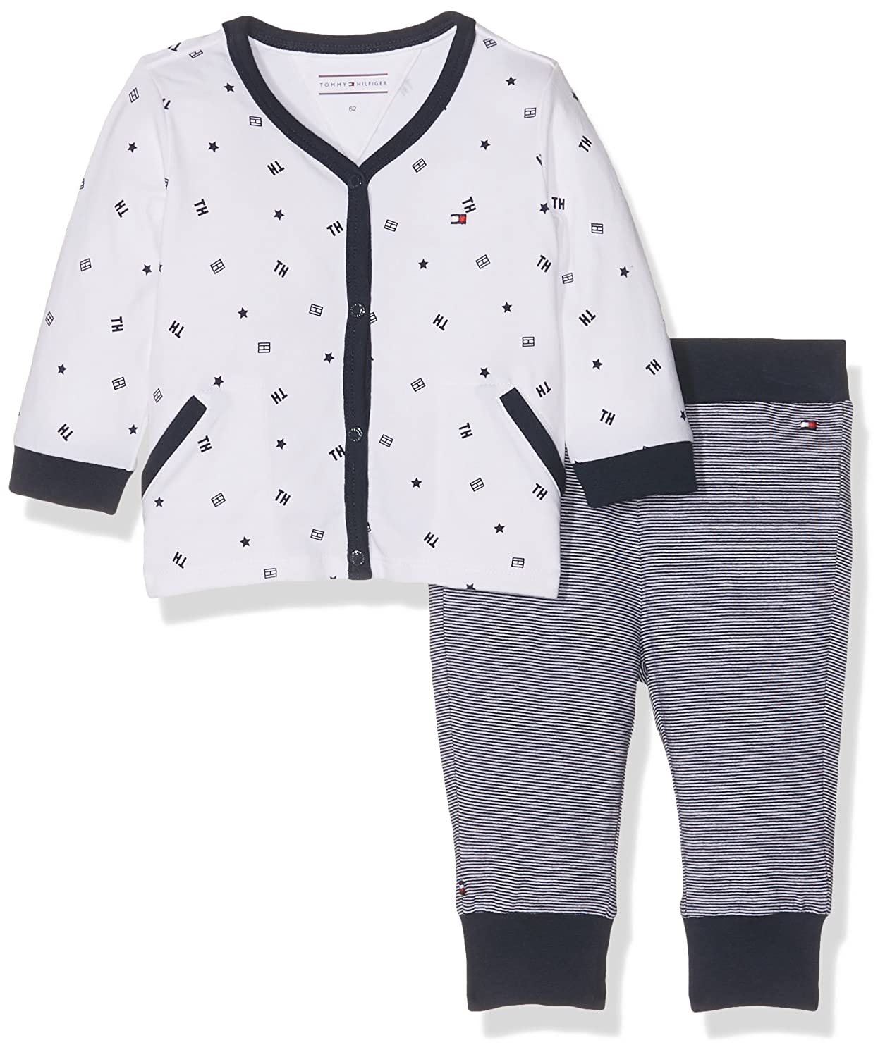Tommy Hilfiger Baby Boys' Clothing Set Blue (Navy Blazer 431) 80 KN0KN00773