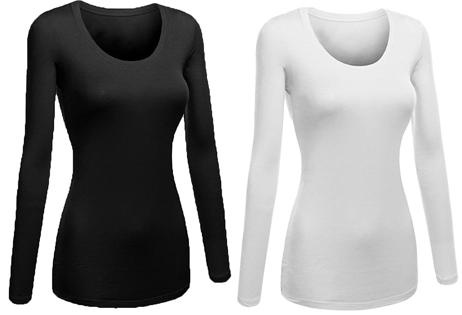 5d3767de9b Womens Plain Long Sleeve T Shirts Amazon